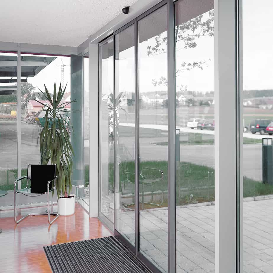 Dorma st flex sliding doors chain glass enterprises inc for Motorized sliding glass door